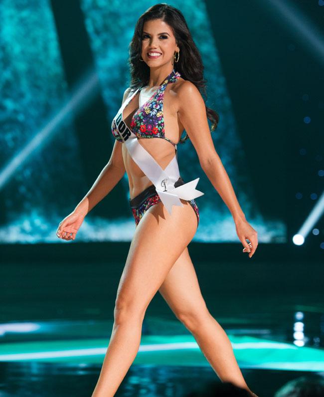Miss Ecuador Francesca Cipriani