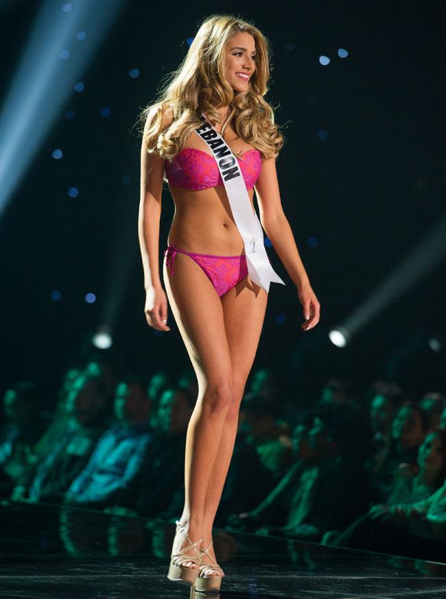 Miss Lebanon Cynthia Roger Samuel