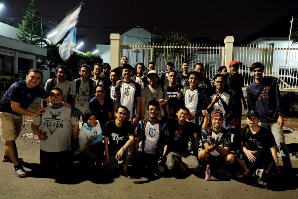 Foto Perayaan Kemenangan Tim Resistance Malang Raya - Photo Credit : @RealitasSemu